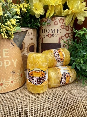 Honey Bee Rolled Soap -Honey Bee Soap