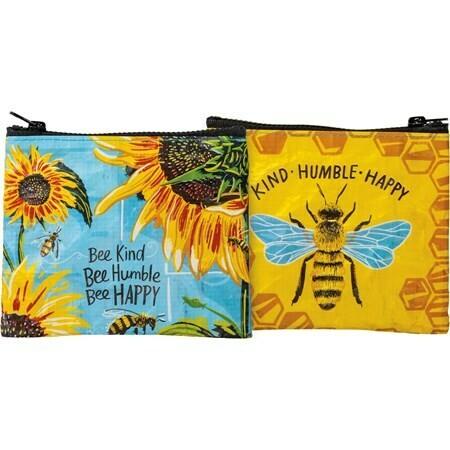 Bee Kind #104499 -Zipper Wallet