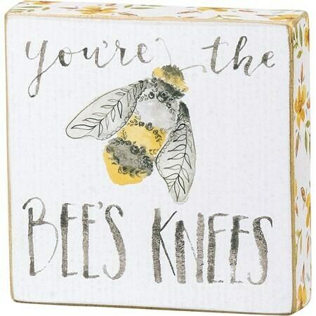 Block Sign #133242 -Bee's Knees