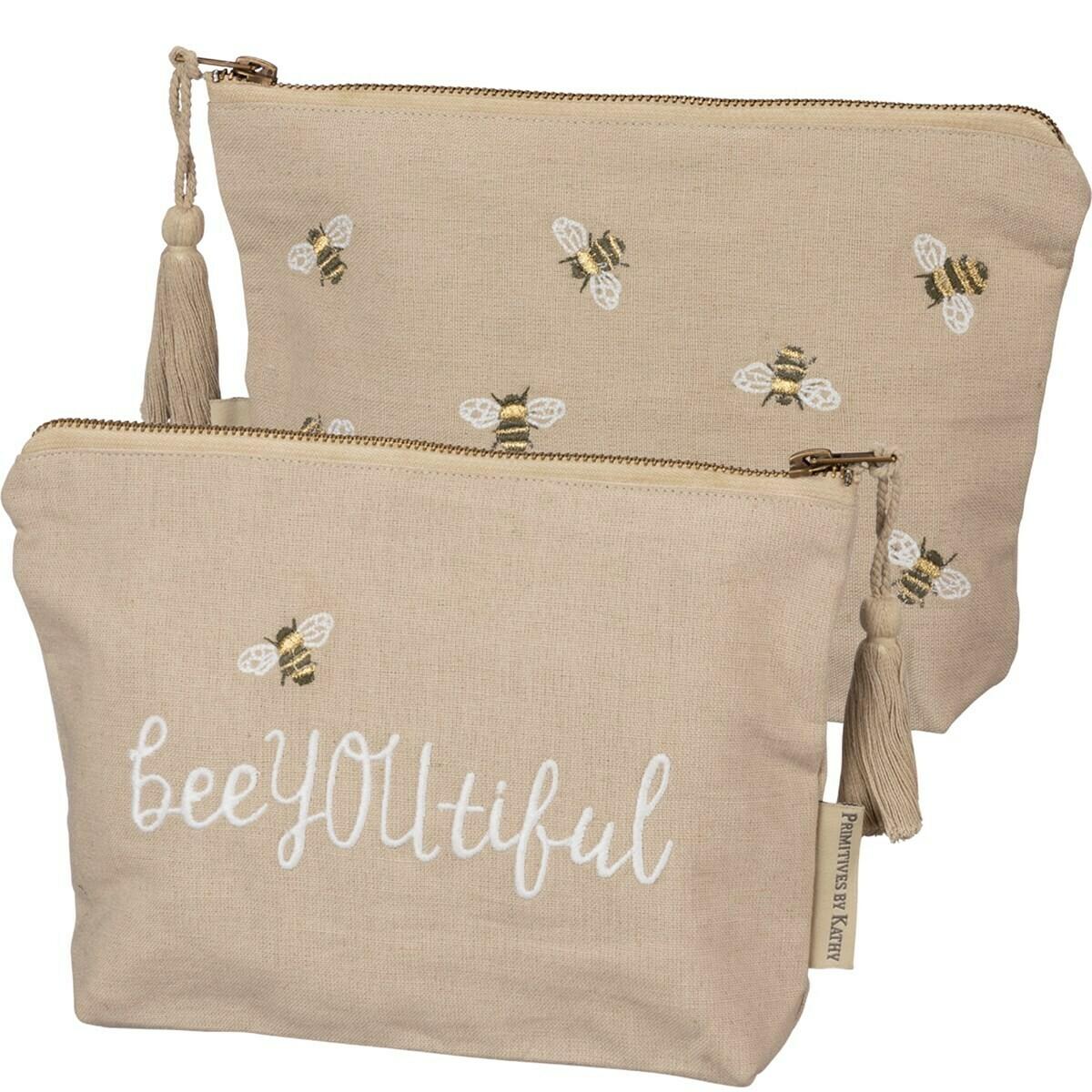 Bee You Tiful # 100193 -Zipper Pouch