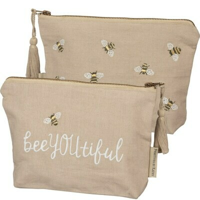 Bee You Tiful #100193 -Zipper Pouch