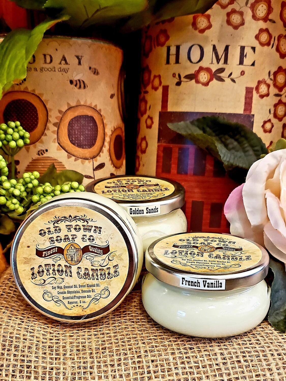 Cinnamon Oatmeal Milk & Honey -Lotion Candles