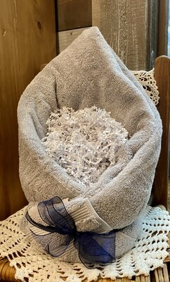 Grey Spa Basket