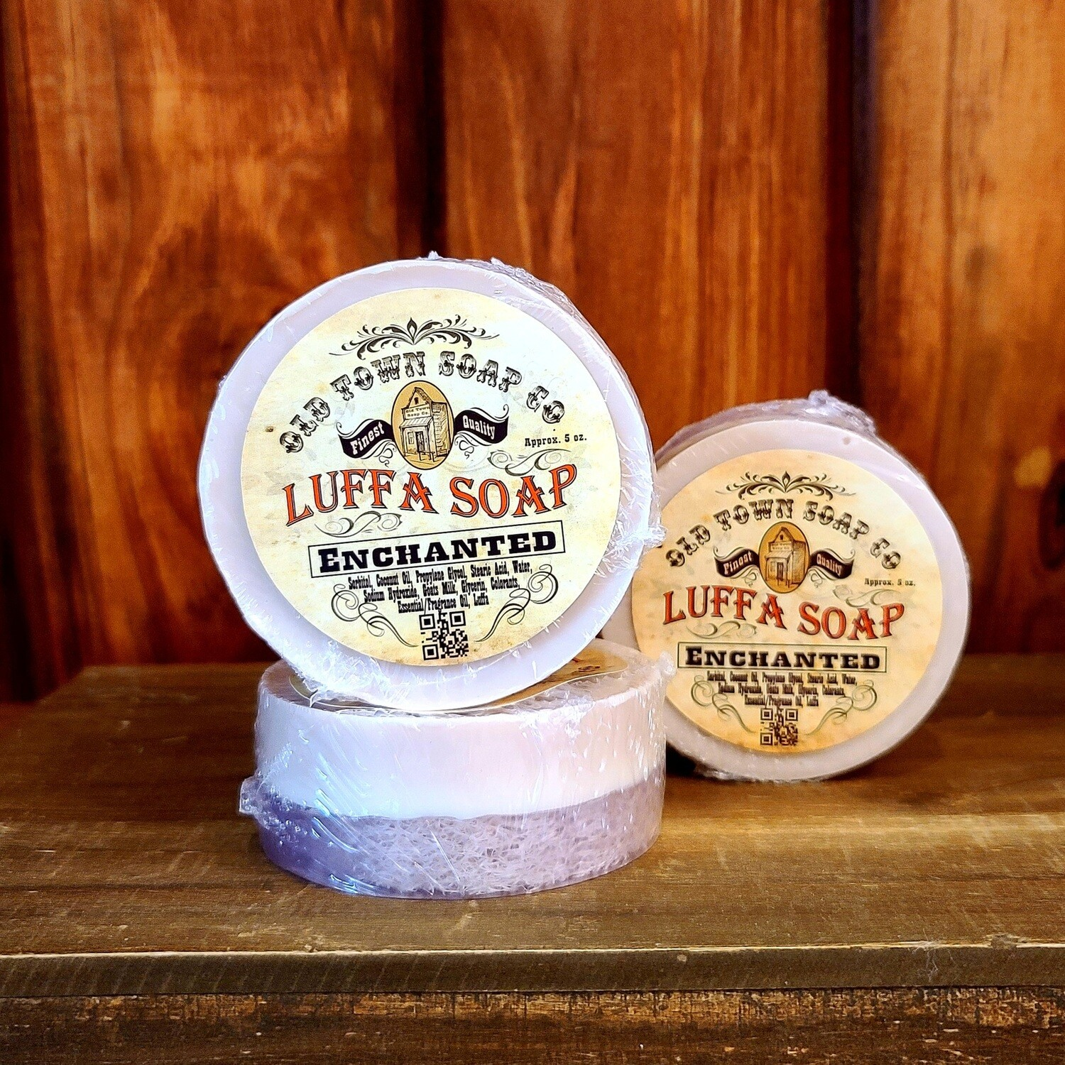 Enchanted -Luffa Soap