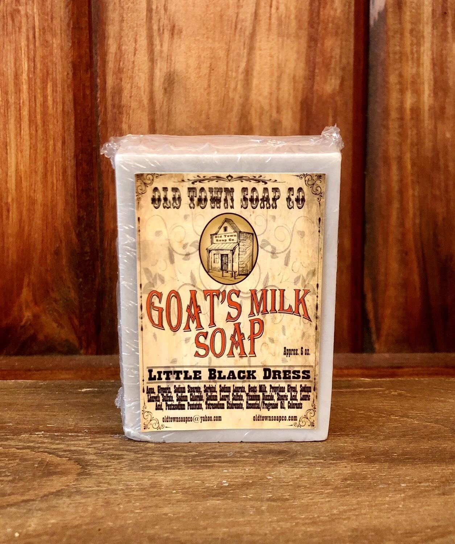 Little Black Dress -Goat's Milk Soap