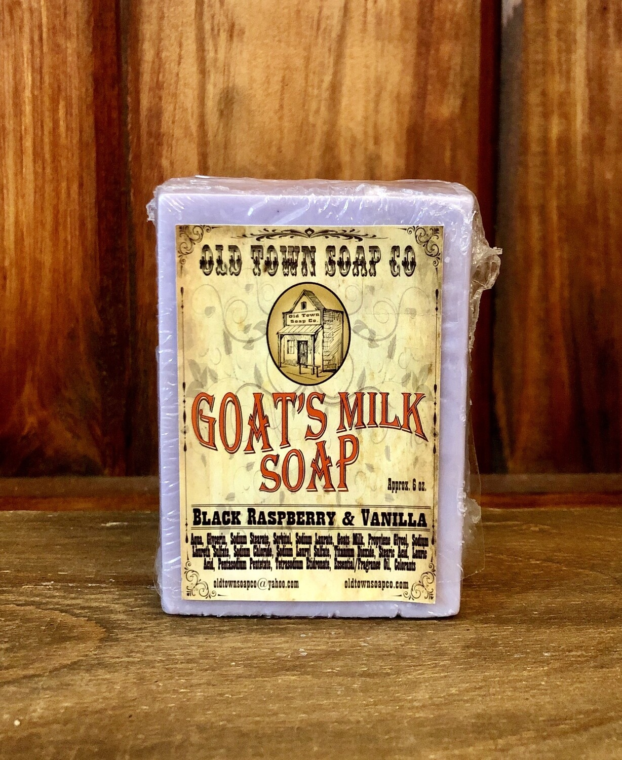 Black Raspberry & Vanilla -Goat's Milk Soap