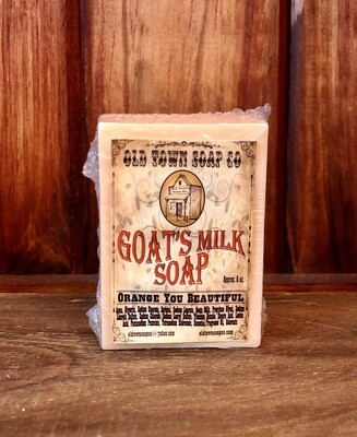 Orange You Beautiful -Goat's Milk Soap