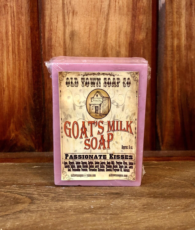 Passionate Kisses - Goat's Milk Soap