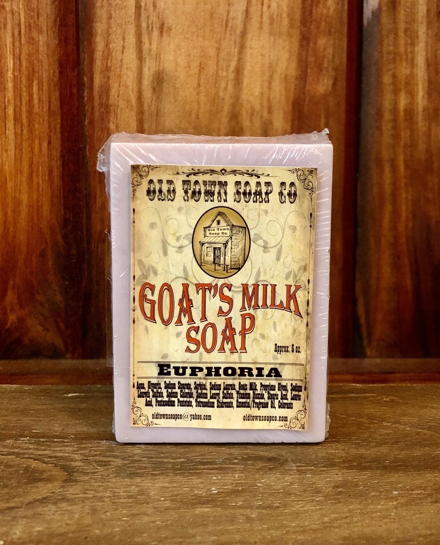 Euphoria -Goat's Milk Soap