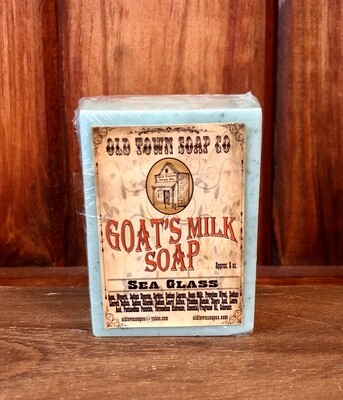 Sea Glass -Goat's Milk Soap