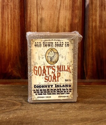 Coconut Island -Goat's Milk Soap