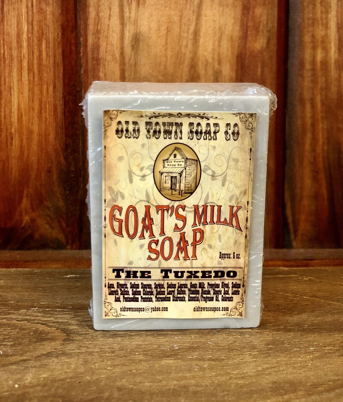 The Tuxedo -Goat's Milk Soap