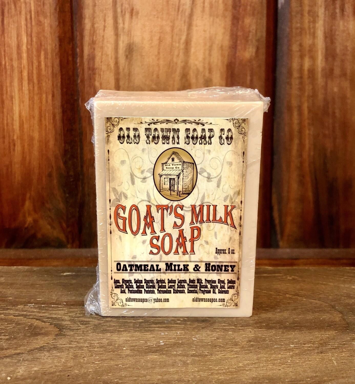 Oatmeal Milk & Honey -Goat's Milk Soap