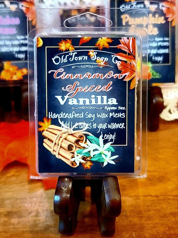 Cinnamon Spiced Vanilla -Wax Melts
