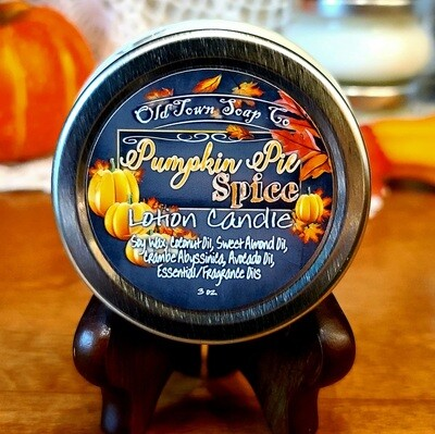 Pumpkin Pie Spice -Lotion Candle