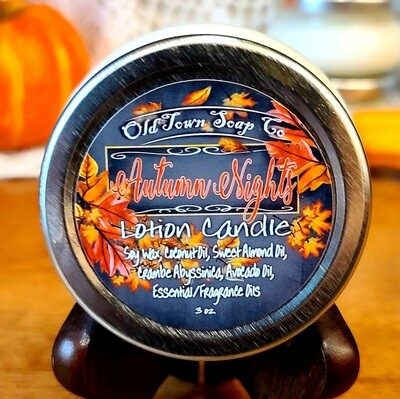 Autumn Nights -Lotion Candles