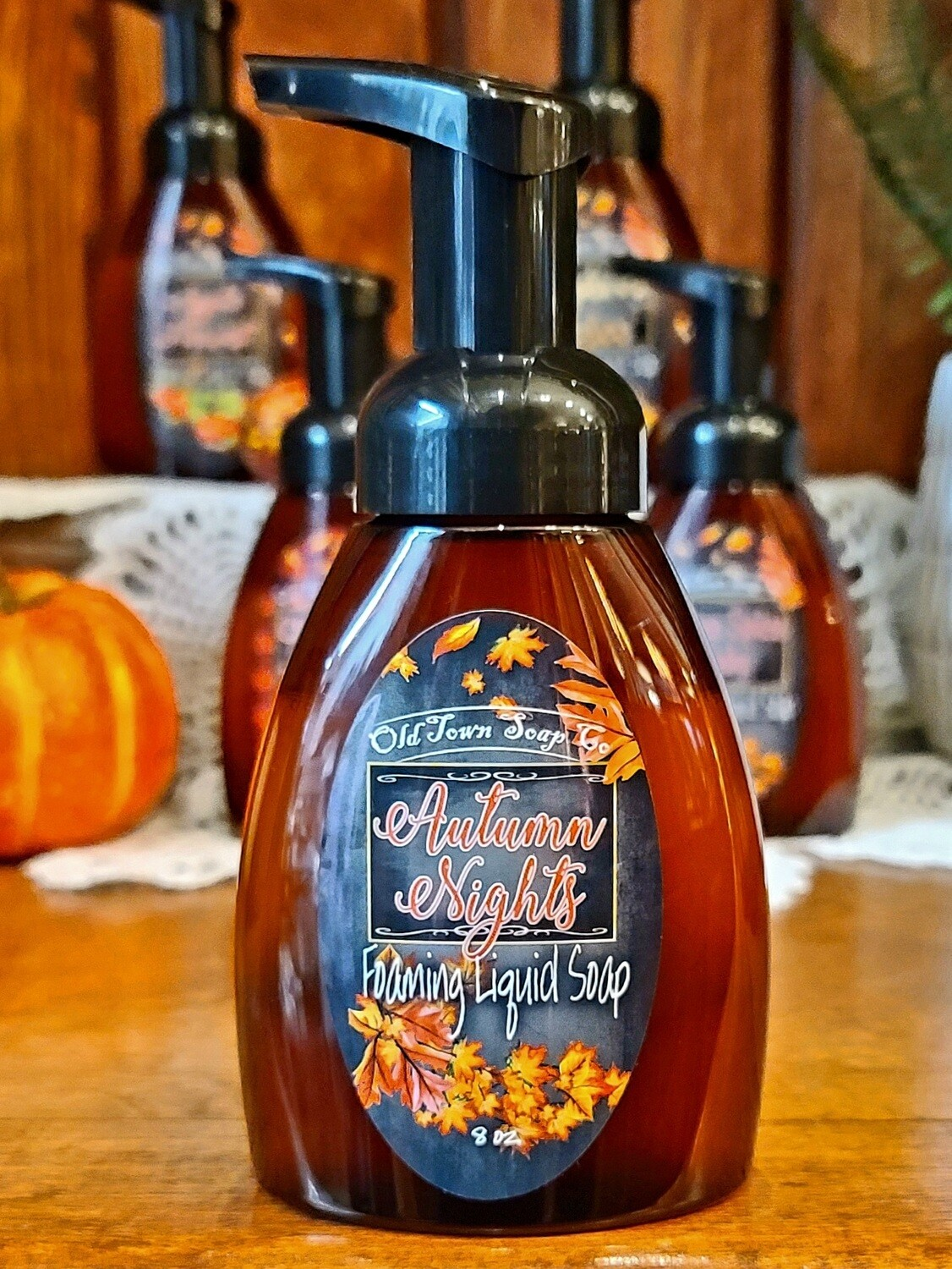 Autumn Nights -Pump Liquid Soap