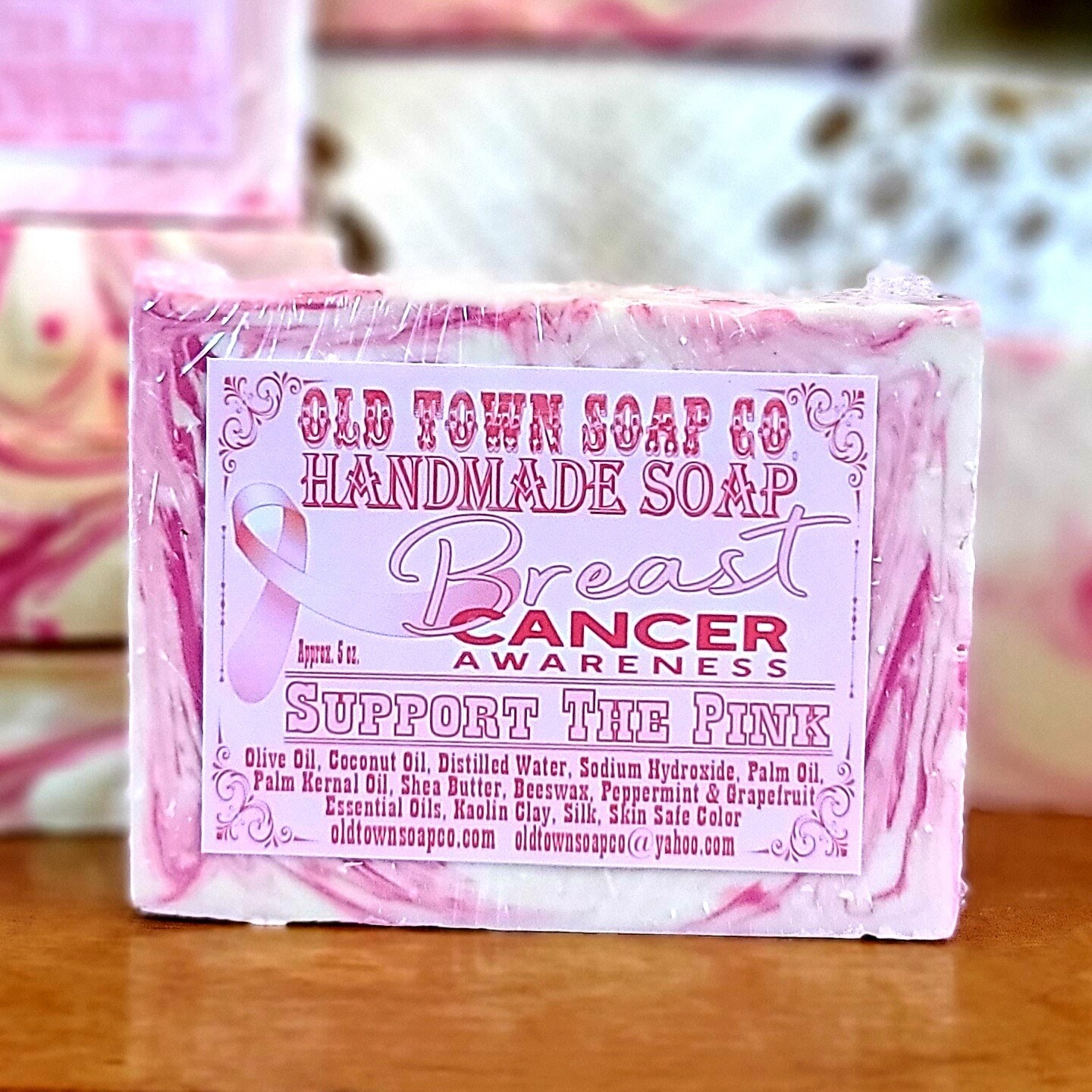 Support The Pink -Bar Soap