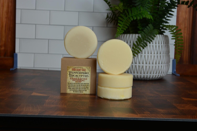 Peppermint Eucalyptus -Dish Soap Bar