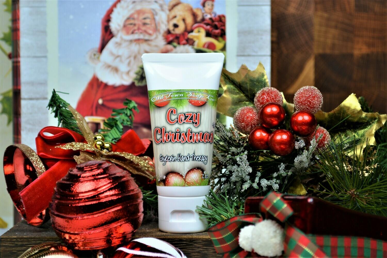 Cozy Christmas -2 oz Tube Hand Therapy