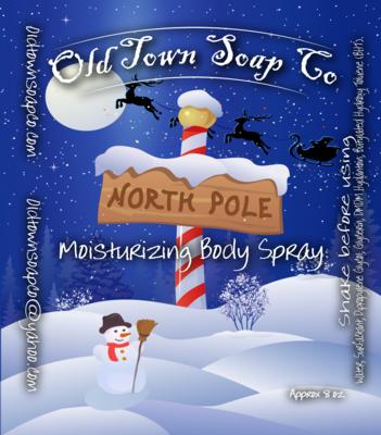 North Pole -Body Spray