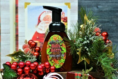 Holly Berry -Pump Liquid Soap