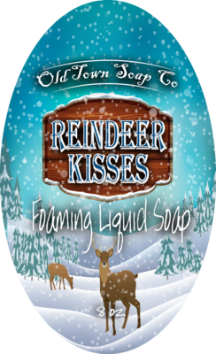 Reindeer Kisses -Pump Liquid Soap