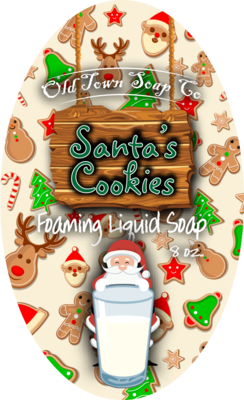 Santa's Cookies -Pump Liquid Soap