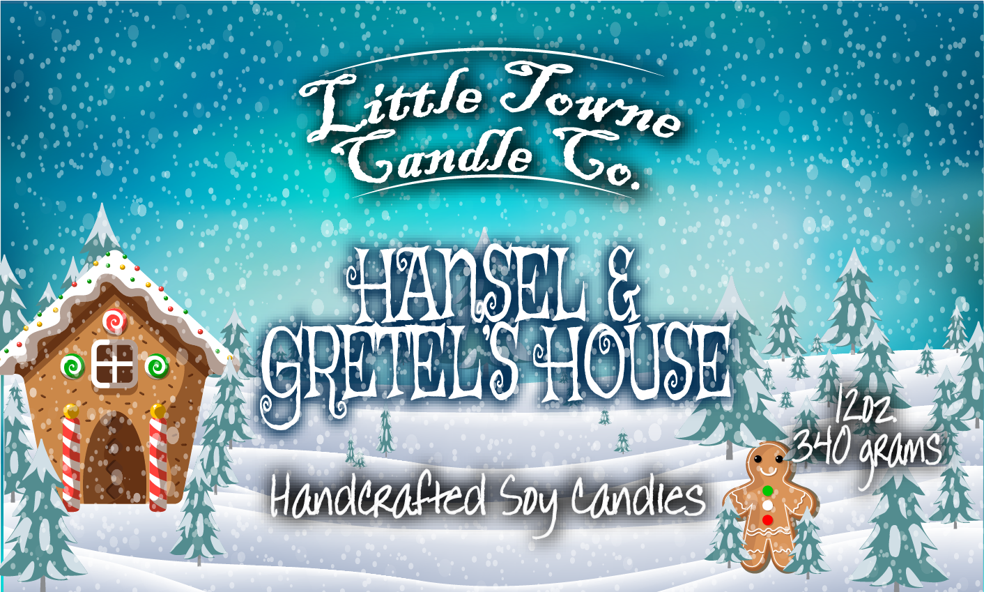 Hansel & Gretel's House -Candles