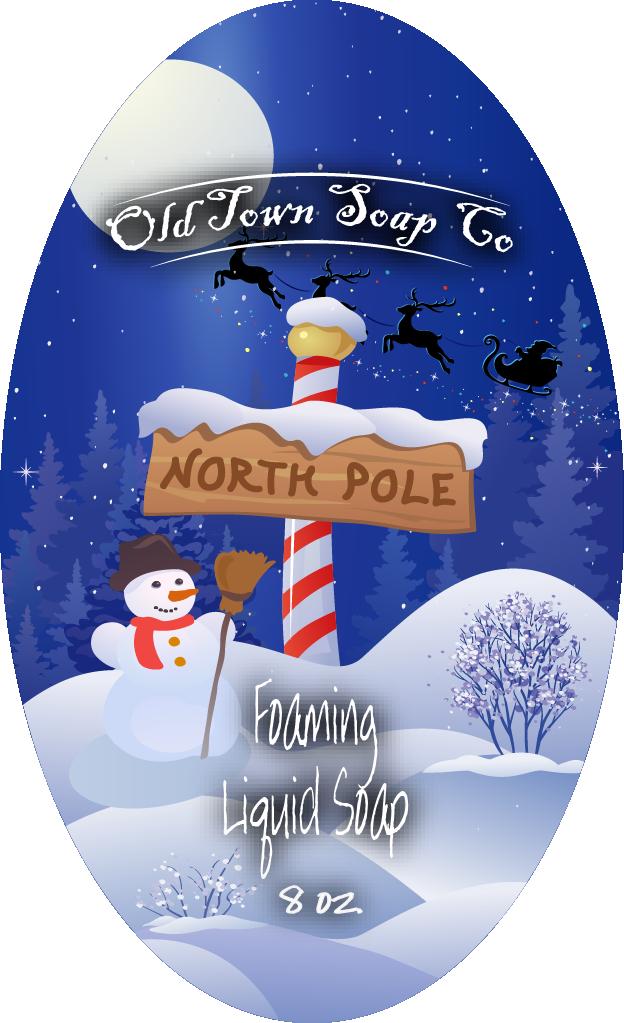 North Pole -Pump Liquid Soap