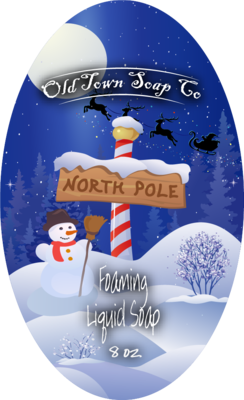 North Pole -Pump Liquid Soap