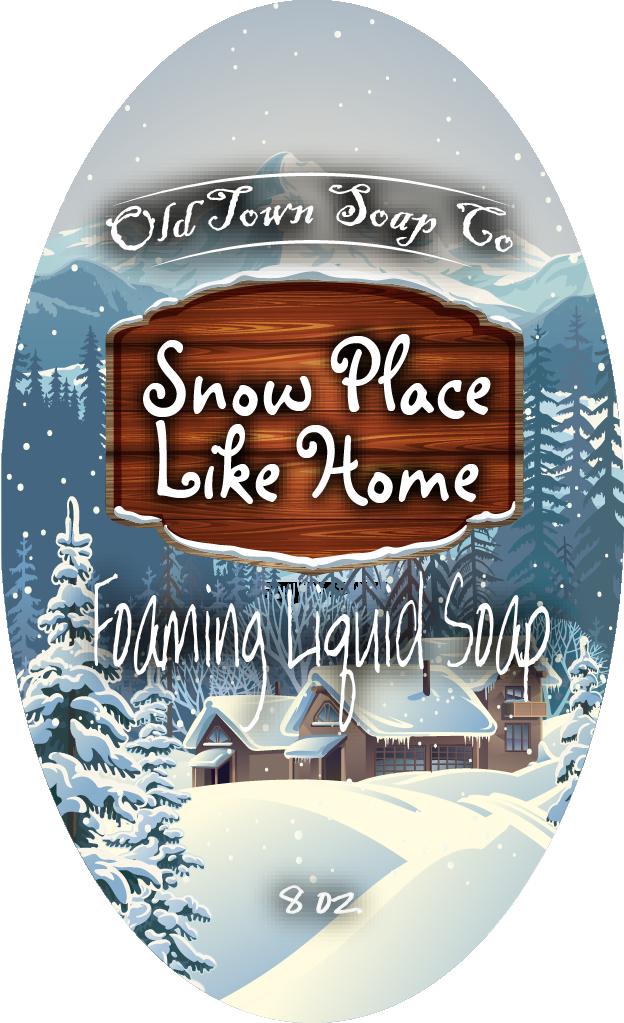 Snow Place Like Home -Pump Liquid Soap