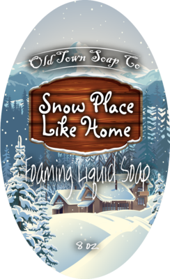 Snow Place Like Home -Pump Liquid Soap