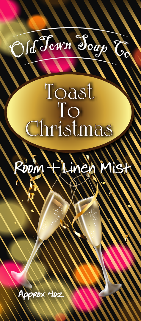 Toast To Christmas -Room+Linen Mist