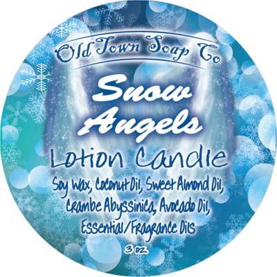 Snow Angels -Lotion Candles