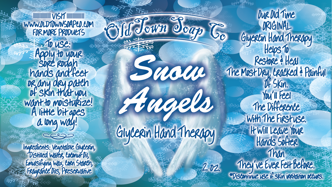 Snow Angels -2 oz Tube Hand Therapy
