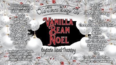 Vanilla Bean Noel -2 oz Tube Hand Therapy