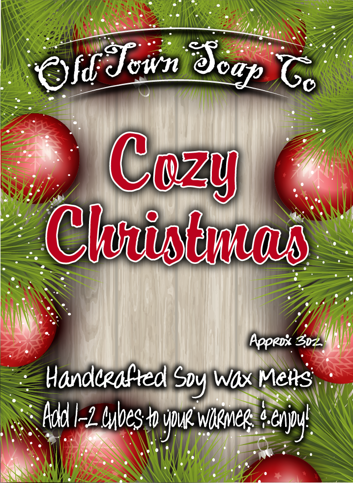 Cozy Christmas -Wax Melts