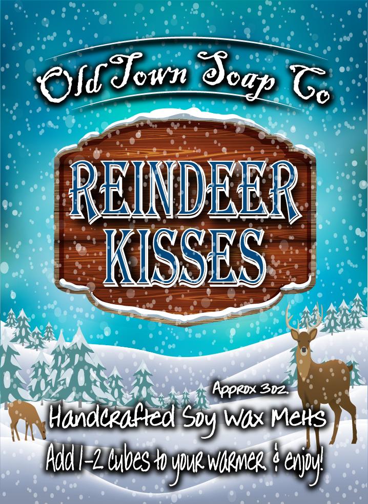 Reindeer Kisses -Wax Melts