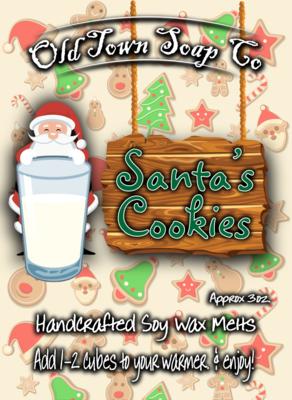 Santa's Cookies -Wax Melts