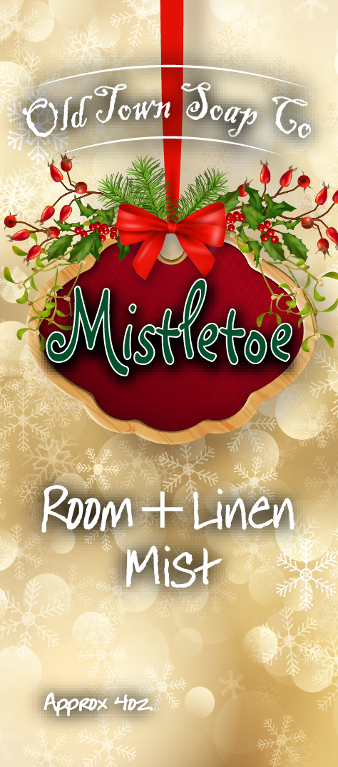 Mistletoe -Room+Linen Mist