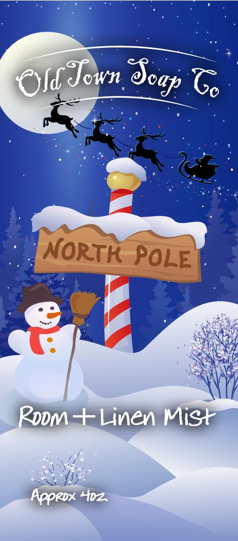 North Pole -Room+Linen Mist