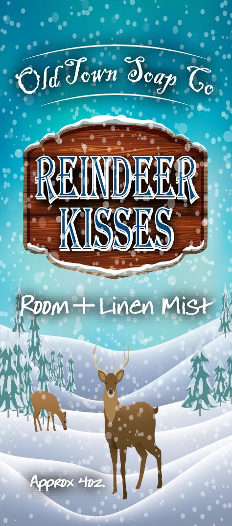 Reindeer Kisses -Room+Linen Mist