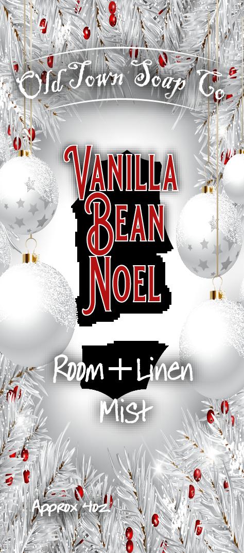 Vanilla Bean Noel -Room+Linen Mist