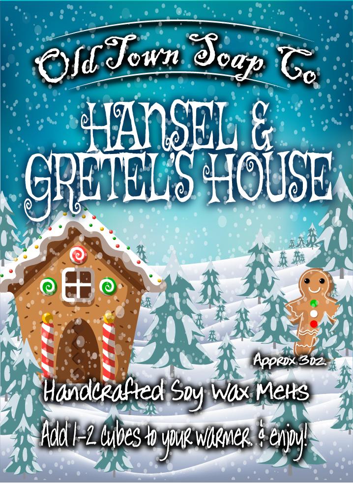 Hansel & Gretel's House -Wax Melts