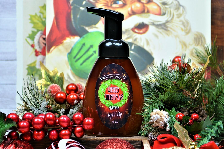 Cherry Christmas -Pump Liquid Soap