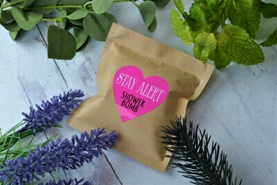 Stay Alert -Aromatherapy Shower Bomb