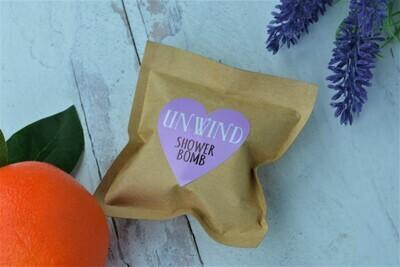 Unwind -Aromatherapy Shower Bomb