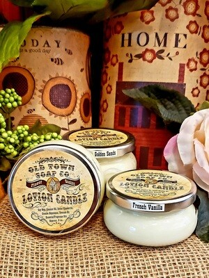 Almond, Oatmeal Milk & Honey -Lotion Candles