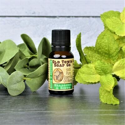 OTSC Headache & Sinus Relief -Essential Oil Blend